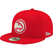 New Era Men's Atlanta Hawks 59Fifty Red Fitted Hat