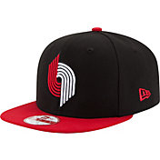 New Era Men's Portland Trail Blazers 9Fifty Black/Red Adjustable Snapback Hat