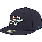 New Era Men's Oklahoma City Thunder 59Fifty Navy Fitted Hat