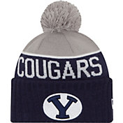 New Era Men's BYU Cougars Blue/Grey NE 15 Sport Knit Beanie