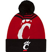 New Era Men's Cincinnati Bearcats Red/Black Logo Whiz 2 Knit Beanie