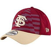 New Era Men's Florida State Seminoles Garnet/Gold NE 15 Stars 39Thirty Performance Hat
