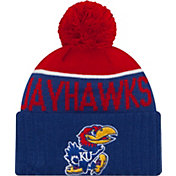 New Era Men's Kansas Jayhawks Blue/Crimson NE 15 Sport Knit Beanie