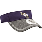 New Era Men's LSU Tigers Purple/Grey Training Visor