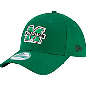 New Era Men's Marshall Thundering Herd Green The League 9Forty Adjustable Hat