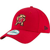 New Era Men's Maryland Terrapins Red The League 9Forty Adjustable Hat