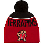 New Era Men's Maryland Terrapins Red/Black NE 15 Sport Knit Beanie