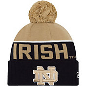 New Era Men's Notre Dame Fighting Irish Navy/Gold NE 15 Sport Knit Beanie