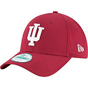 New Era Men's Indiana Hoosiers Crimson The League 9Forty Adjustable Hat