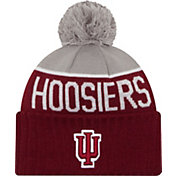 New Era Men's Indiana Hoosiers Crimson/Grey NE 15 Sport Knit Beanie