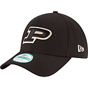 New Era Men's Purdue Boilermakers The League Black 9Forty Adjustable Hat
