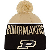 New Era Men's Purdue Boilermakers Black/Old Gold NE 15 Sport Knit Beanie