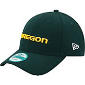 New Era Men's Oregon Ducks Green The League 9Forty Adjustable Hat