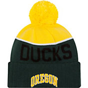 New Era Men's Oregon Ducks Green/Yellow NE 15 Sport Knit Beanie