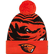 New Era Men's Oregon State Beavers Orange/Black Logo Whiz 2 Knit Beanie