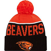 New Era Men's Oregon State Beavers Black/Orange NE 15 Sport Knit Beanie