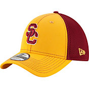 New Era Men's USC Trojans Gold/Cardinal Team Front Neo 39Thirty Hat