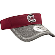 New Era Men's South Carolina Gamecocks Garnet/Grey Training Visor