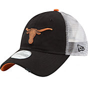 New Era Men's Texas Longhorns Team Rustic Black/White 9TWENTY Hat