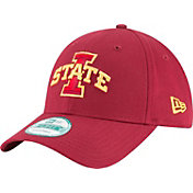 New Era Men's Iowa State Cyclones Cardinal The League 9Forty Adjustable Hat