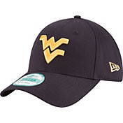 New Era Men's West Virginia Mountaineers Blue The League 9Forty Adjustable Hat