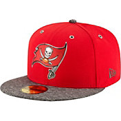 New Era Men's Tampa Bay Buccaneers 2016 NFL Draft 59Fifty Red Fitted Hat