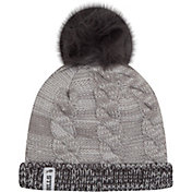 New Era Women's Buffalo Bills Cozy Team Grey Cuffed Knit Hat