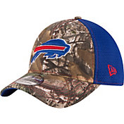 New Era Men's Buffalo Bills Real Tree Neo 39Thirty Camouflage Flex Hat
