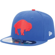 New Era Men's Buffalo Bills Throwback Classic 59Fifty Fitted Royal Hat