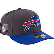 New Era Men's Buffalo Bills Crafted in America 59Fifty Graphite Fitted Hat