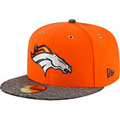 New Era Men's Denver Broncos 2016 NFL Draft 59Fifty Orange Fitted Hat