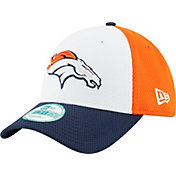 New Era Men's Denver Broncos Perfect Block White 9Forty Adjustable Hat