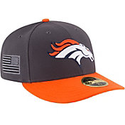 New Era Men's Denver Broncos Crafted in America 59Fifty Graphite Fitted Hat