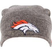 New Era Men's Denver Broncos Slouch-It Grey Long Knit Beanie