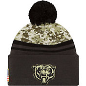New Era Men's Chicago Bears Salute to Service 2016 Camo Cuff Knit