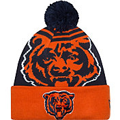 New Era Men's Chicago Bears Logo Whiz Navy Knit Hat