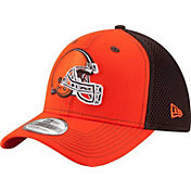 New Era Men's Cleveland Browns Team Front Neo 39Thirty Flex Hat