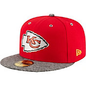 New Era Men's Kansas City Chiefs 2016 NFL Draft 59Fifty Red Fitted Hat
