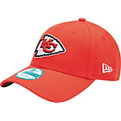 New Era Men's Kansas City Chiefs Red League 9Forty Adjustable Hat
