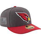 New Era Men's Arizona Cardinals Crafted in America 59Fifty Graphite Fitted Hat