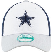 New Era Men's Dallas Cowboys Perfect Block White 9Forty Adjustable Hat