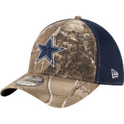 New Era Men's Dallas Cowboys Real Tree Neo 39Thirty Camouflage Flex Hat