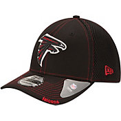 New Era Men's Atlanta Falcons 39Thirty Neo Flex Black Hat