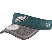 New Era Men's Philadelphia Eagles 2016 Training Camp Official Green Visor