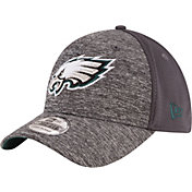 New Era Men's Philadelphia Eagles Shadowed Team 39Thirty Grey Flex Hat