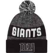 New Era Men's New York Giants Sport Black Knit Beanie