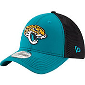 New Era Men's Jacksonville Jaguars Team Front Neo 39Thirty Flex Hat