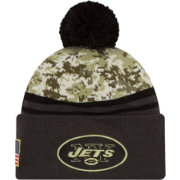 New Era Men's New York Jets Salute to Service 2016 Camo Cuff Knit