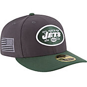 New Era Men's New York Jets Crafted in America 59Fifty Graphite Fitted Hat