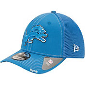 New Era Men's Detroit Lions 39Thirty Neo Flex Blue Hat